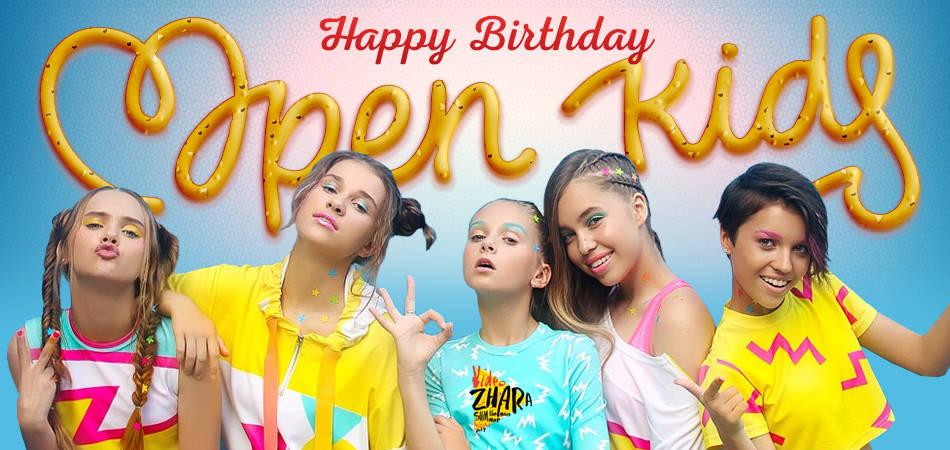 Happy Birthday Open Kids!