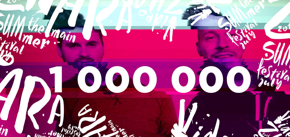 1 000 000 на канале LizzzTVshow!
